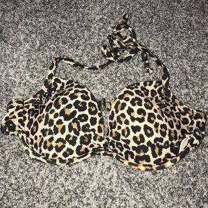 Other - Cheetah print bathing suit top